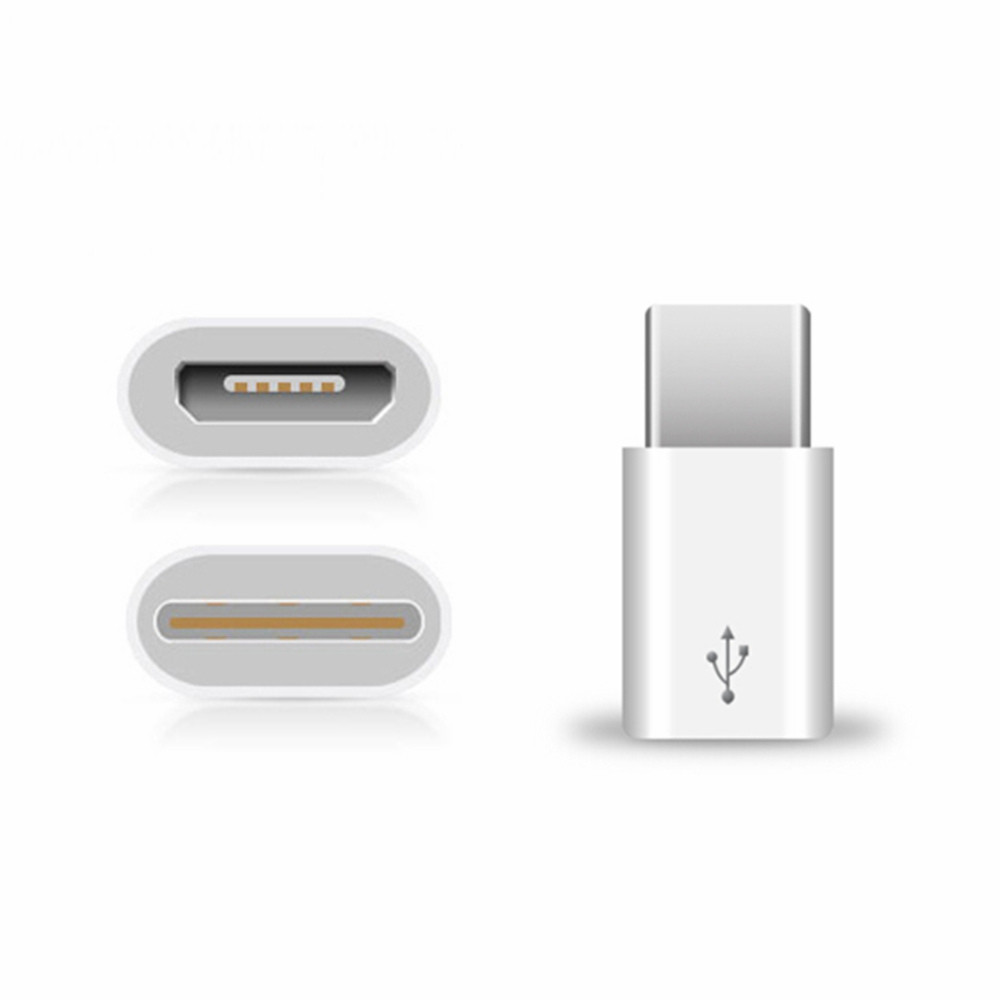 Tochic USB Type-C Male to Micro USB Female Connector for Xiaomi 2PCS