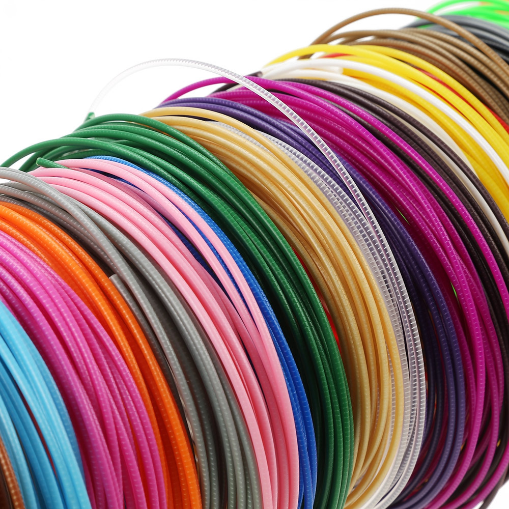 20 Colors Printer Filament for MYRIWELL 3D Printing Pen