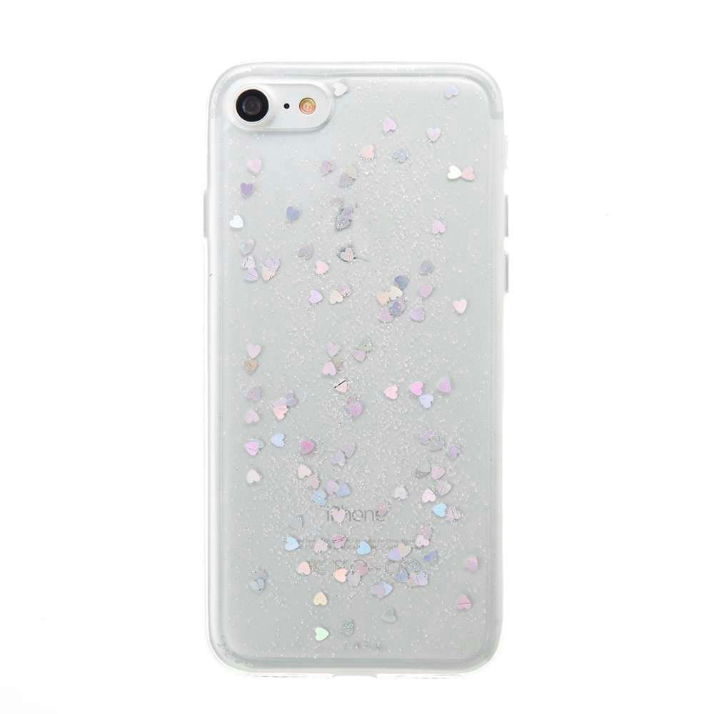 Love Heart Dijiao Tpu Phone Case for Iphone 7 / 8