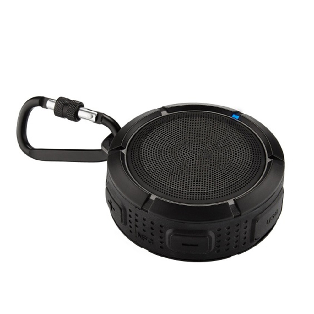 Bluetooth Waterproof Speaker Floating IPX7 Wireless Speaker Pocket-Sized Speaker with Carabiner