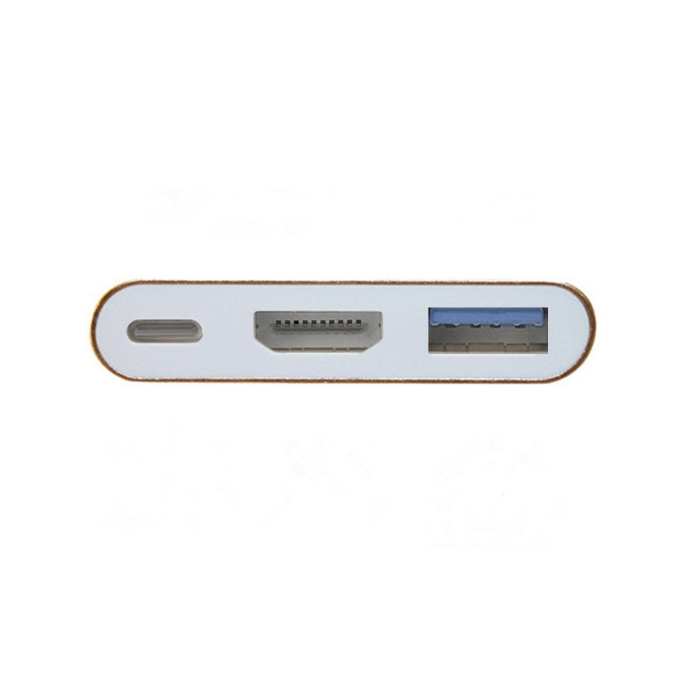 USB Type C to HD 4K Adapter USB C Multiport HD Adapter for MacBook
