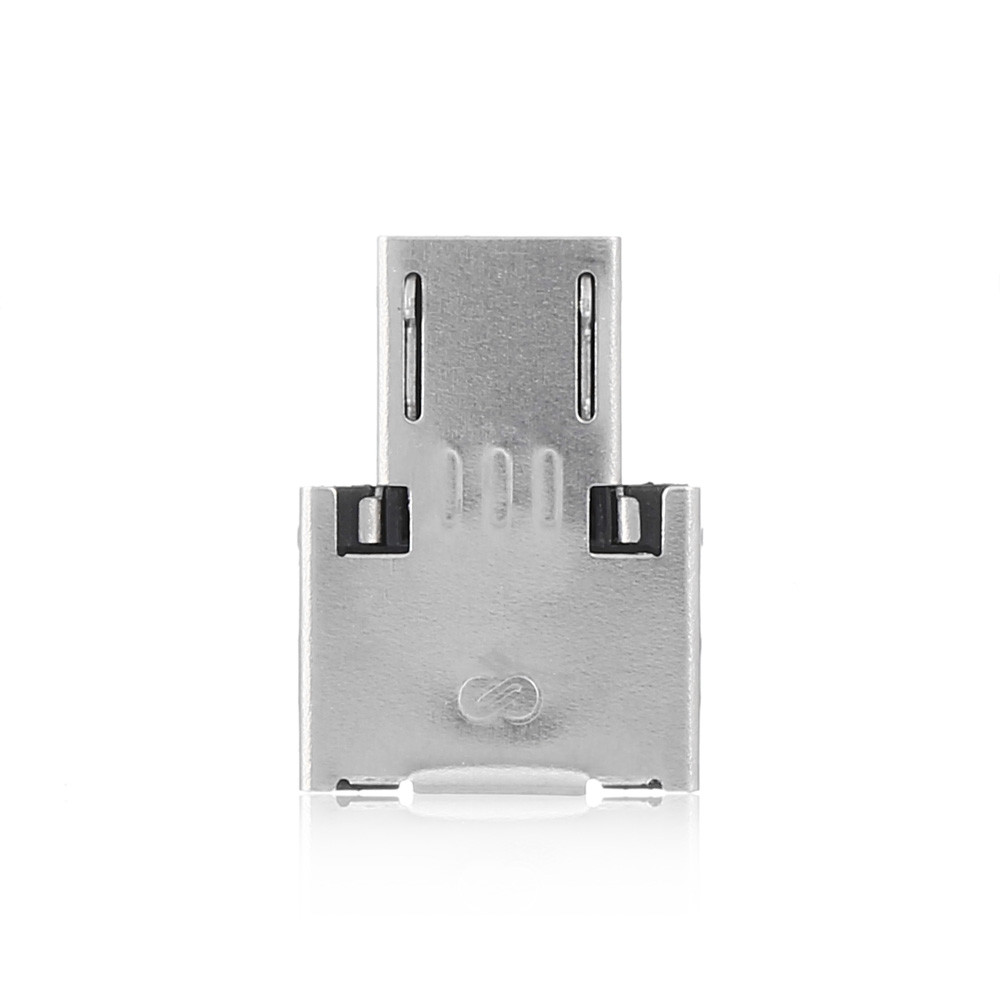 USB to Micro USB Male OTG Adapter  -  SILVER
