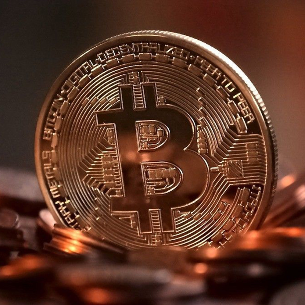 Bitcoin Memorial Circular Collector Coin