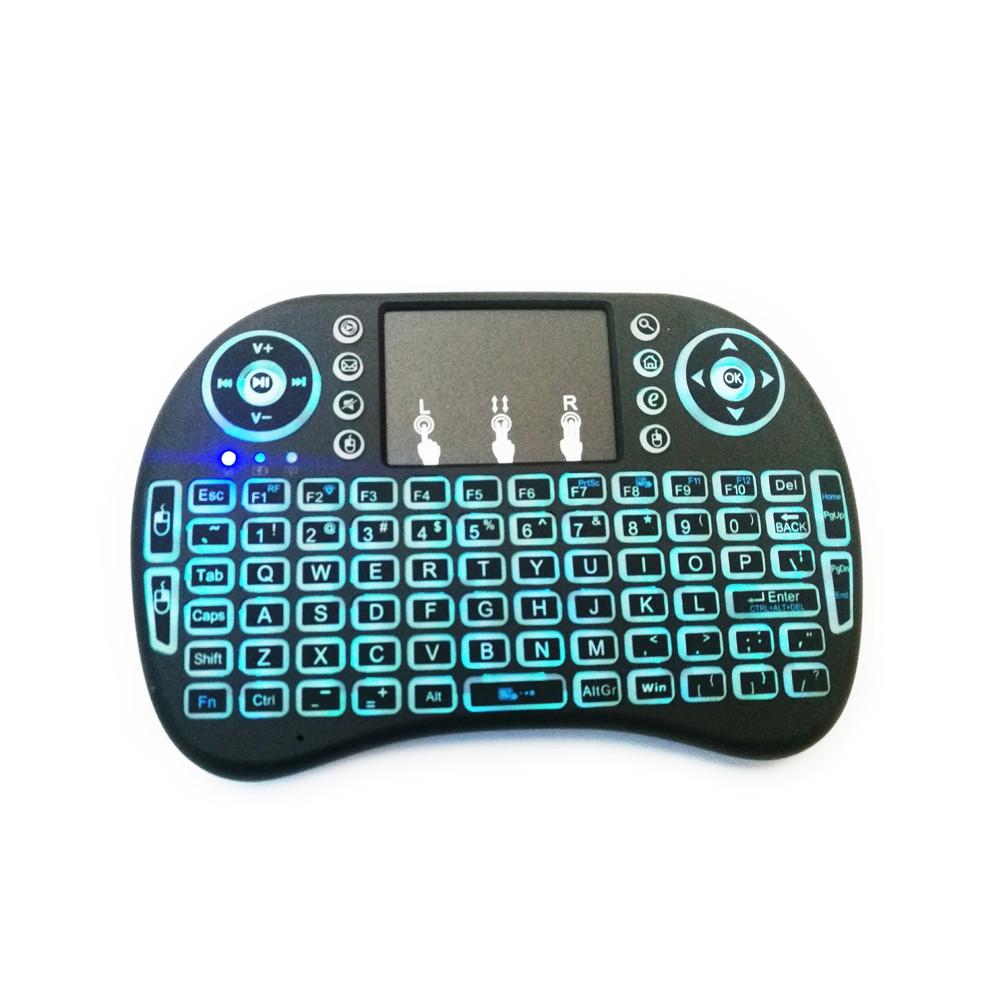 i8 Mini Backlight Wireless Keyboard Touchpad Mouse