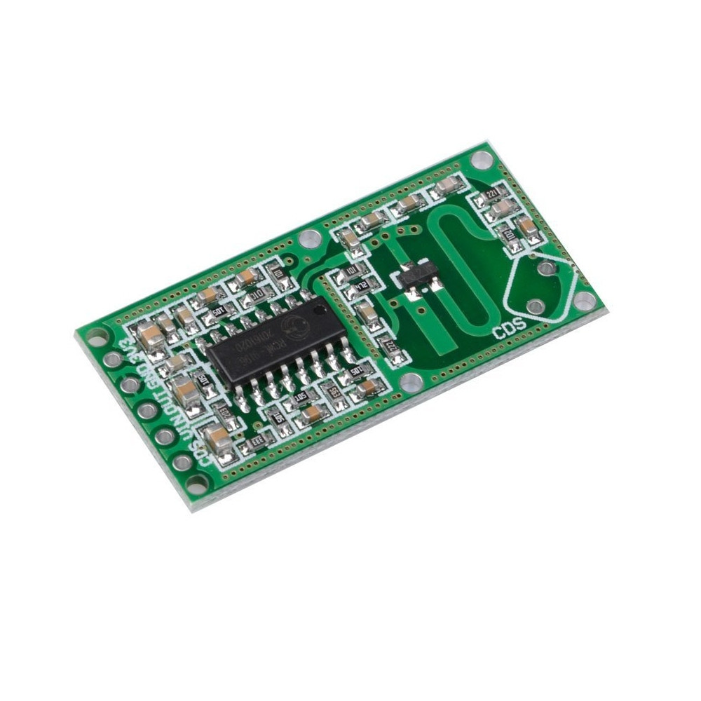 0516  Microwave Radar Sensor Human Body Induction Switch Module Board Smart