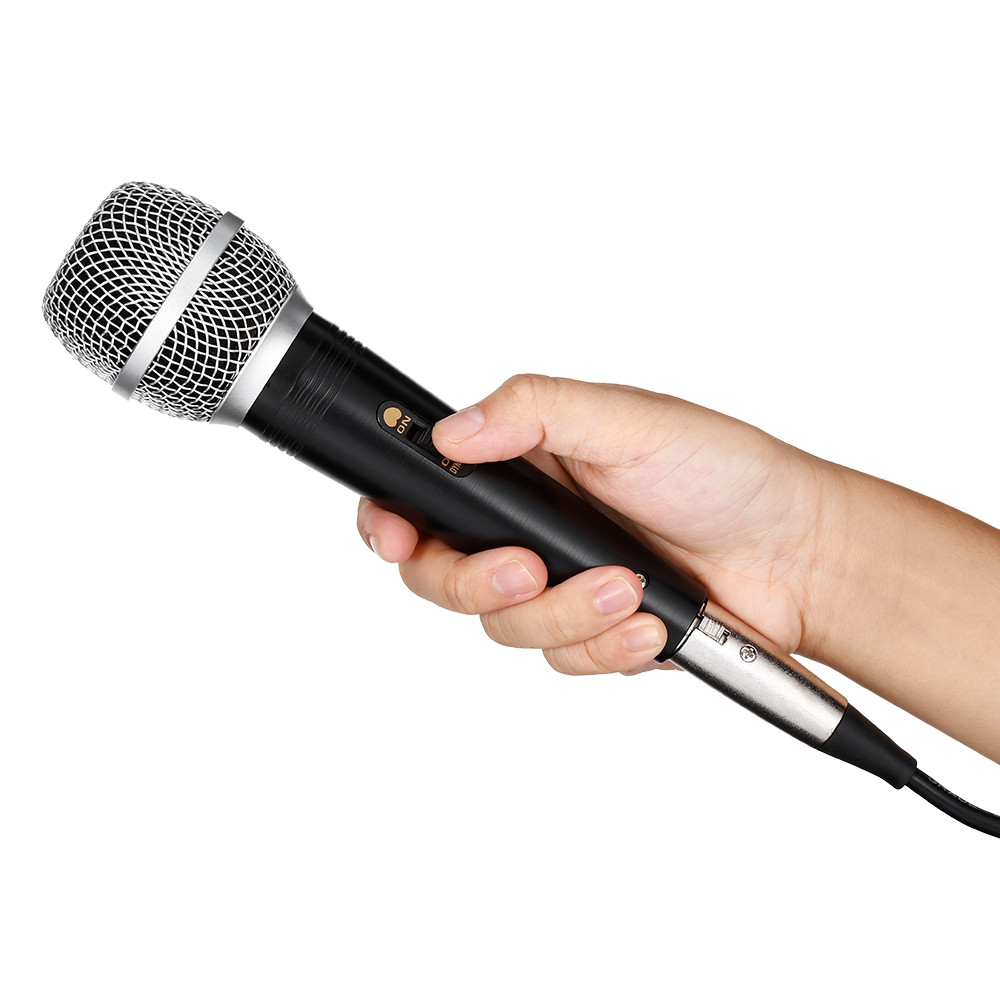 SCIMELO 780X Professional Handheld Wired Cardioid Dynamic HiFi Microphone