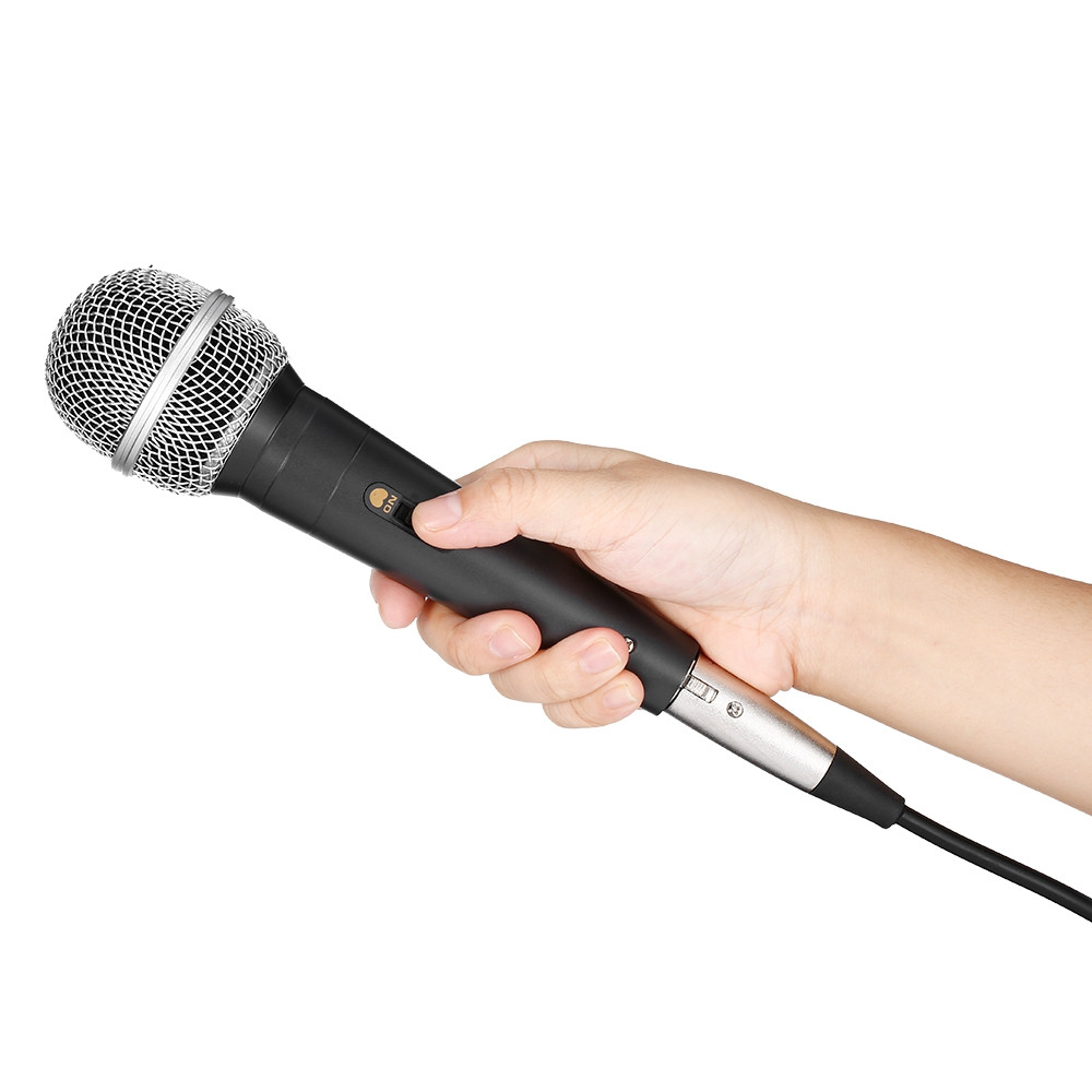 SN - 1000 Professional Handheld Wired Cardioid Dynamic HiFi Microphone