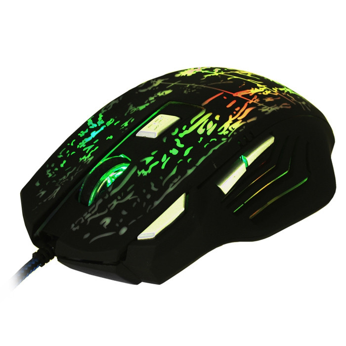 bEITRS X3 Wired Gaming Mouse Support LED Backlit Display