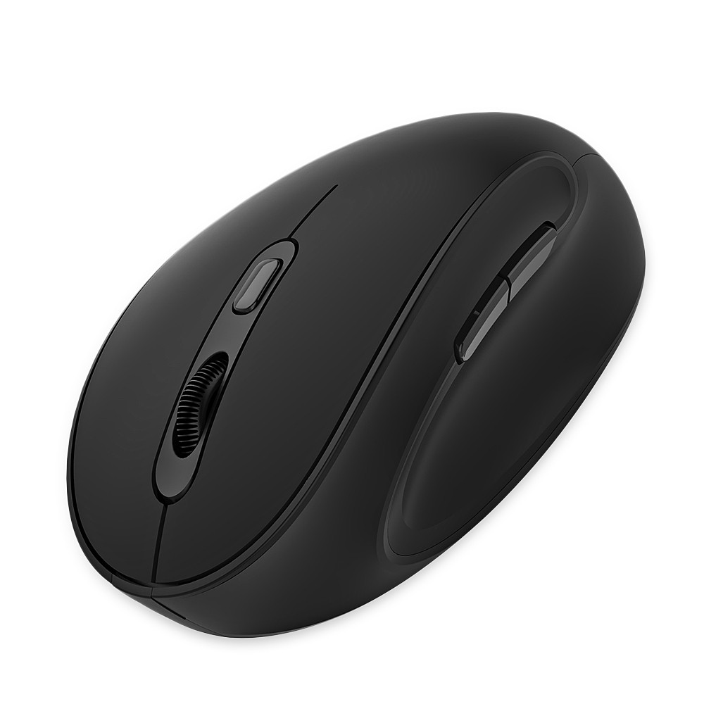 Delux M618SE Wireless Vertical Mouse Adjustable Resolution 1600DPI
