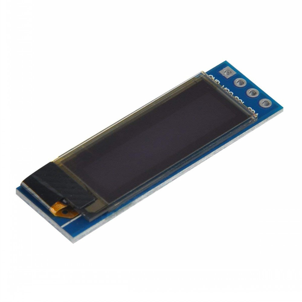 1pcs I2C OLED 0.91 Inch  Display Module Screen Driver DC 3.3V-5V for Arduino