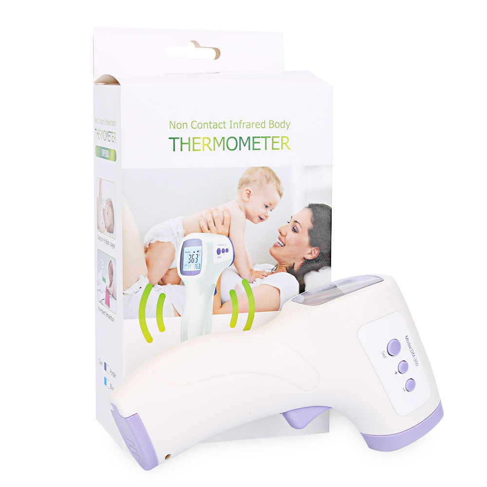 Professional Baby / Adult Digital Multi Function Infrared Forehead Thermometer WHITE