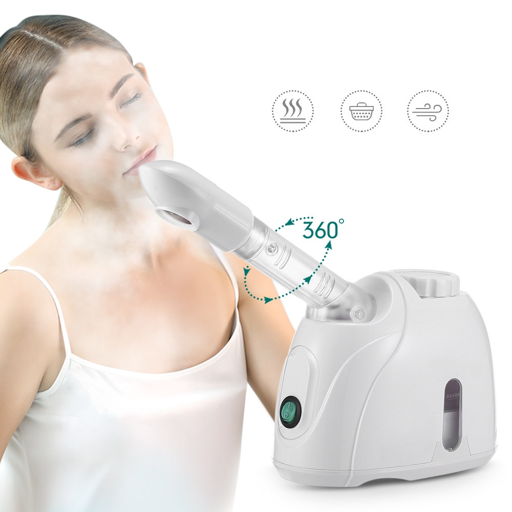 K_SKIN Facial Steamer Sprayer SPA Steaming Machine WHITE CHINESE PLUG