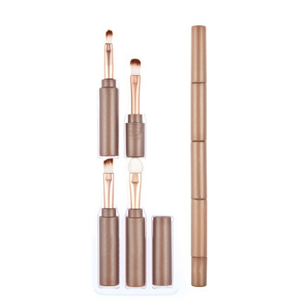Beauty Multi Function Cosmetic Brushes Set GOLDEN