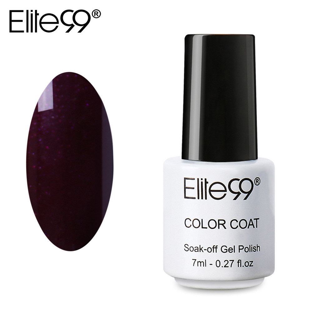 Elite99 Professional 7ml Colorful DIY UV Gel Curing Lamp Nail Polish 1339