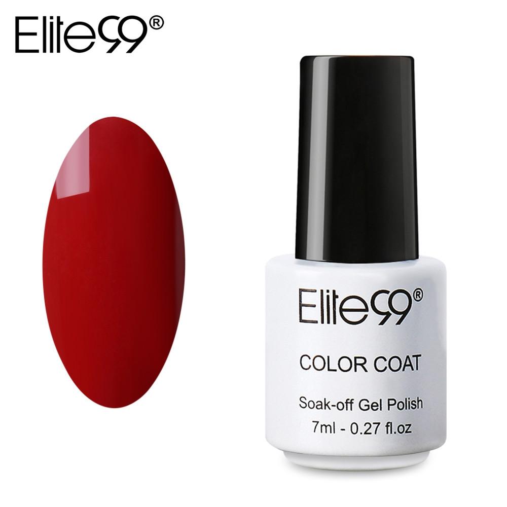 Elite99 Professional 7ml Colorful DIY UV Gel Curing Lamp Nail Polish 1337