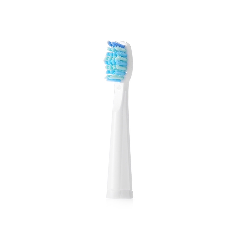 SEAGO E2 Waterproof Sonic Electric Toothbrush with 2 Brush Heads WHITE