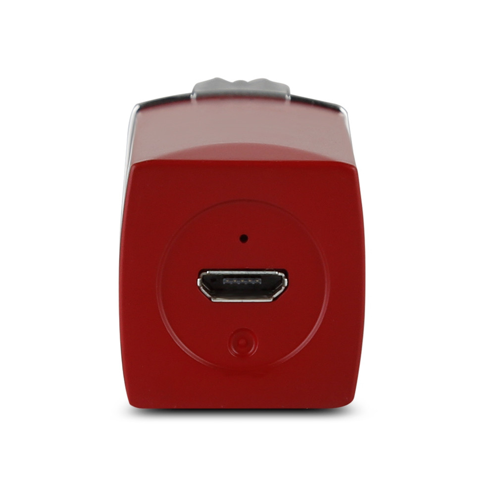K_SKIN KD505A Female Mini Rechargeable Electric Facial Epilator Portable Shaver RED WINE