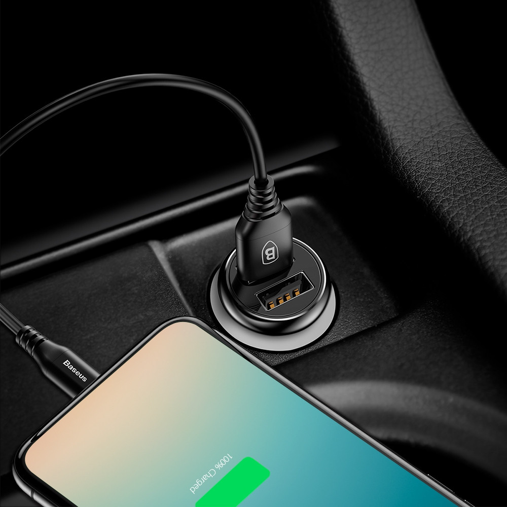 Baseus Gentleman Car Charger Dual USB Output