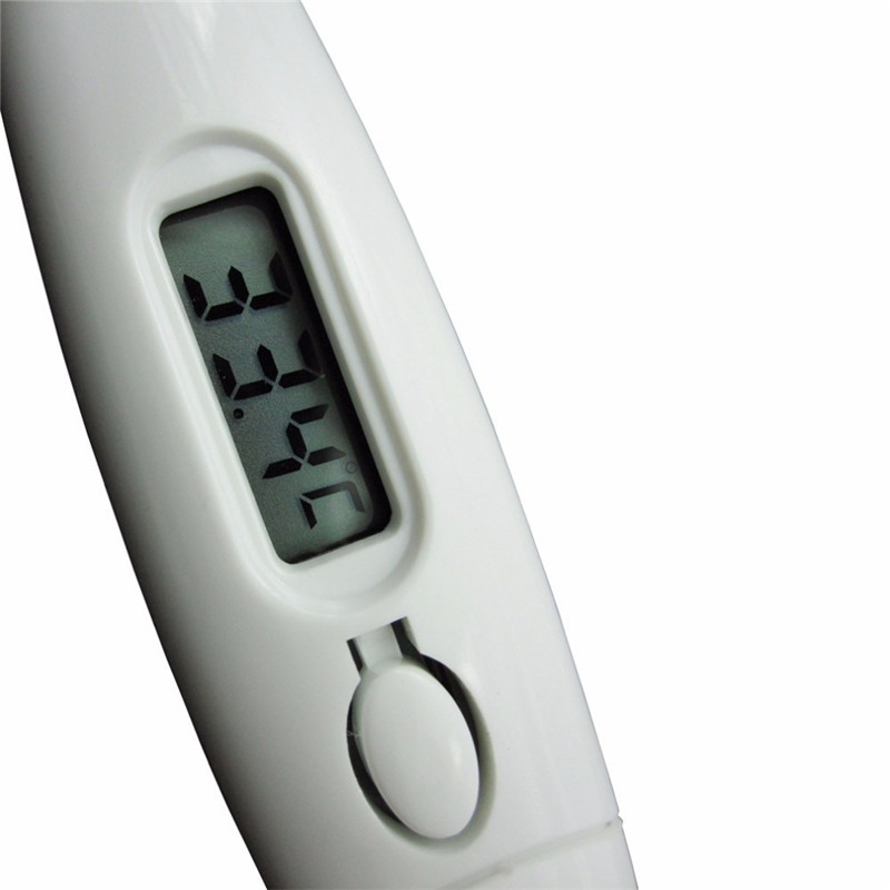 Child Adult Body Digital LCD Heating Thermometer Temperature Measurement WHITE
