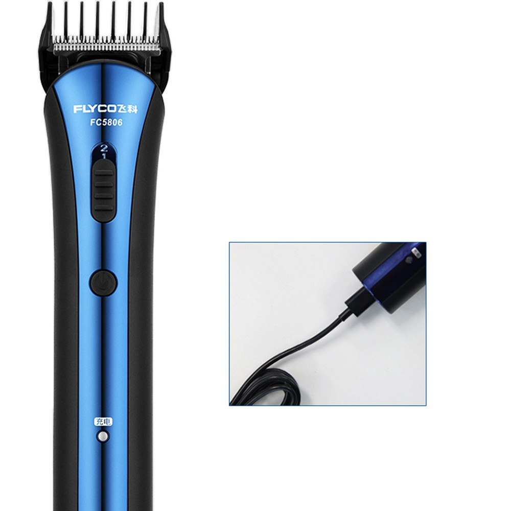 FLYCO FC5806 Hair Clipper Electric for Adults Children  BLUE EYES