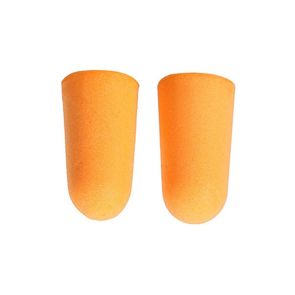 Soft Orange Foam Ear Plugs Tapered Travel Sleep Noise Prevention Earplugs Noise Reduction For Travel Sleeping ORANGE