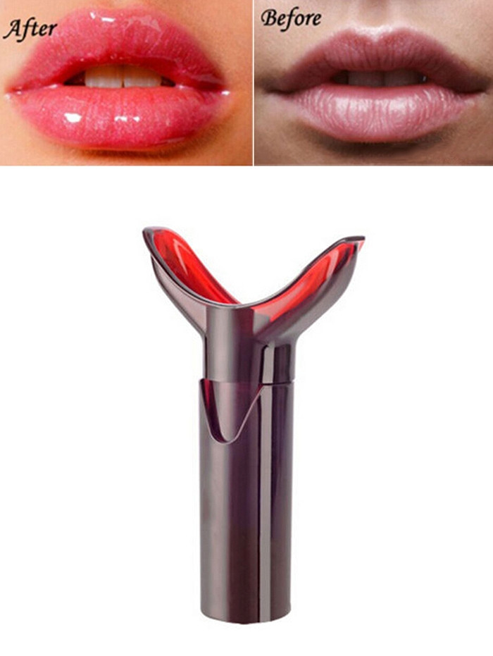 Beauty Care Lips Enhancer Plumper DEEP RED