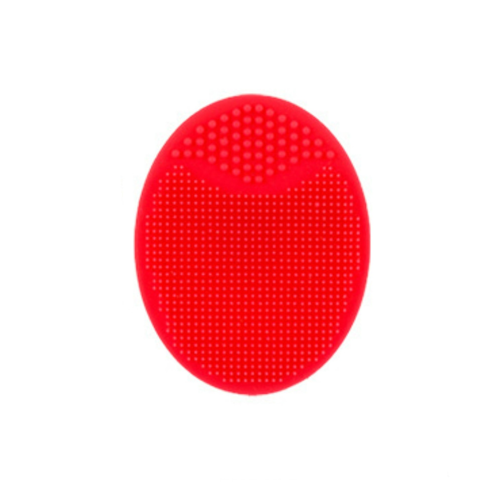 Manual Silica Gel Wash Brush RED
