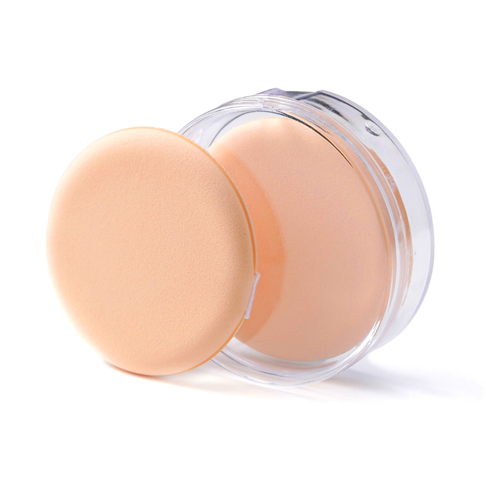 Wet and Dry BB Cream Special Boxed Two Circular Sponge PEACH