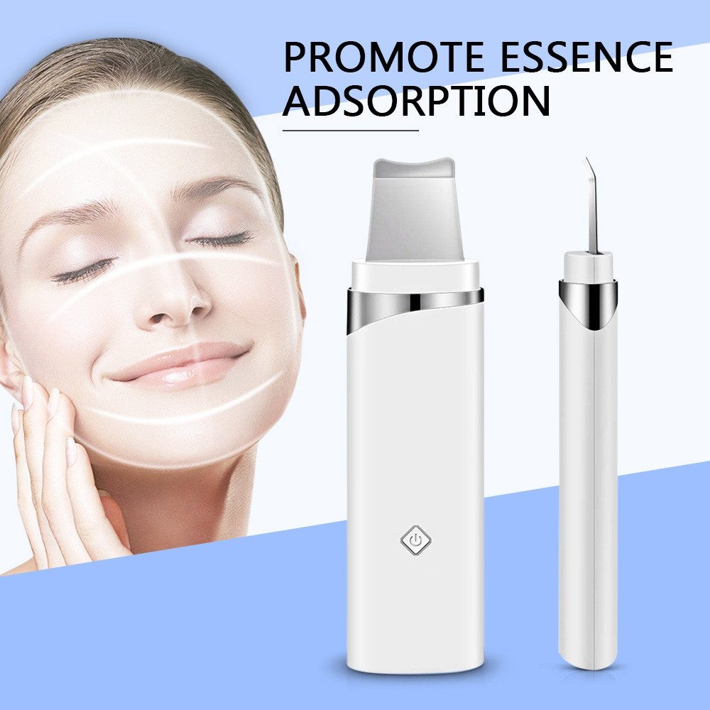 K_SKIN KD8023 Ultrasonic Blackhead Acne Removal Pore Cleaner Face Skin Care WHITE