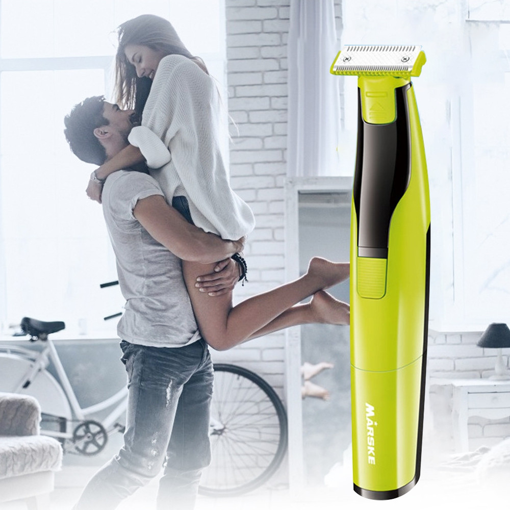 MARSKE Safety Razor Electric Shaver for Women Men SALAD GREEN