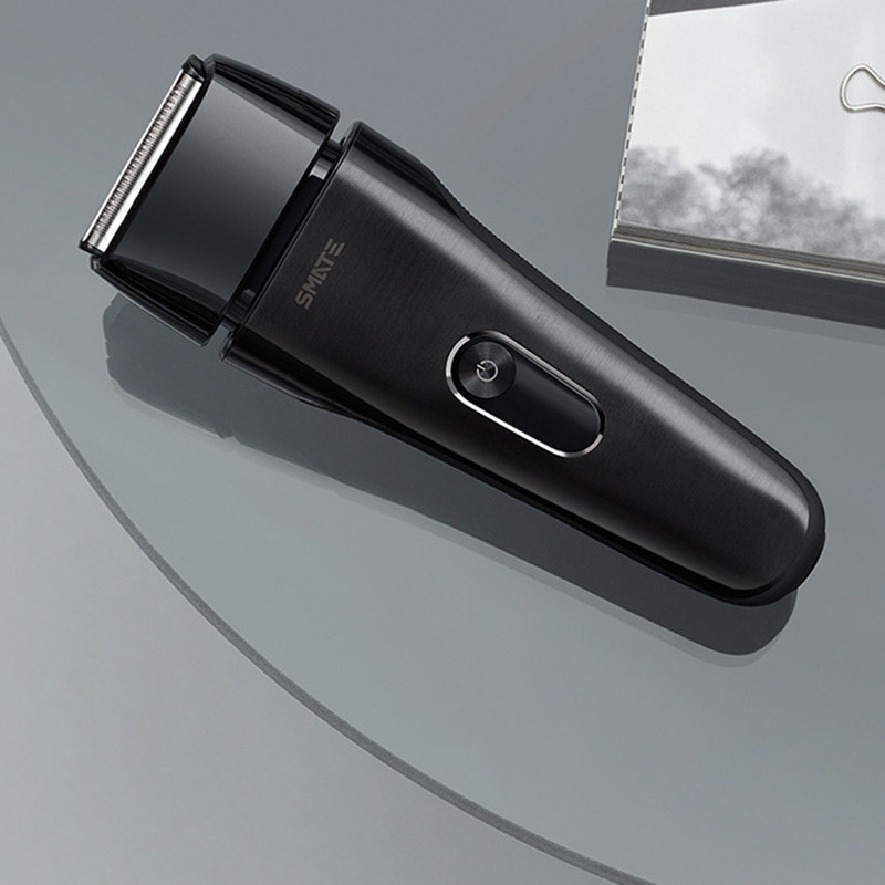 Smate ST - W482 Electric Shaver Rechargeable 4 Cutter Full Waterproof Body ( Xiaomi Ecosystem Product ) DARK GOLDENROD