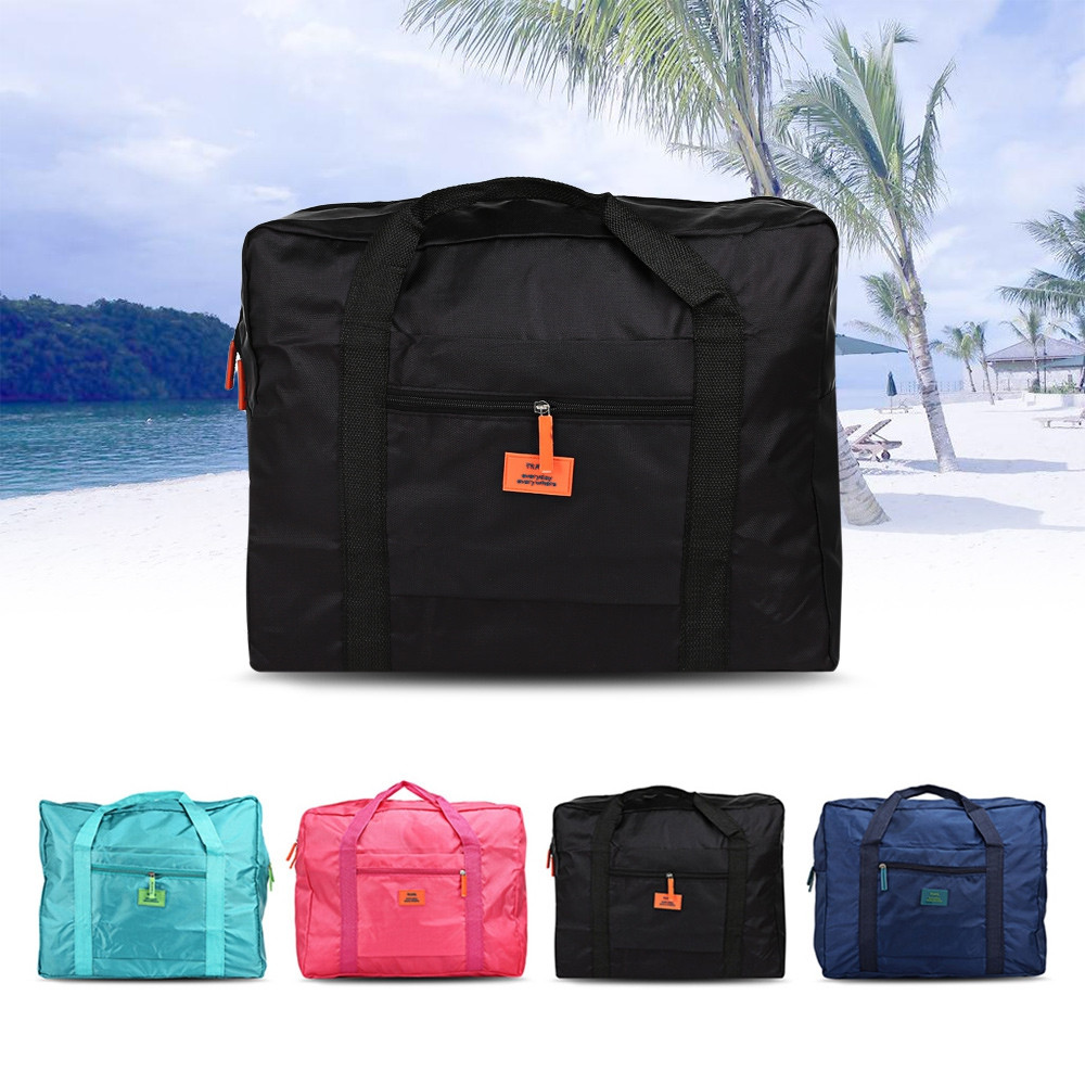 Multipurpose Travel Folding Water Resistant Storage Bag BLACK