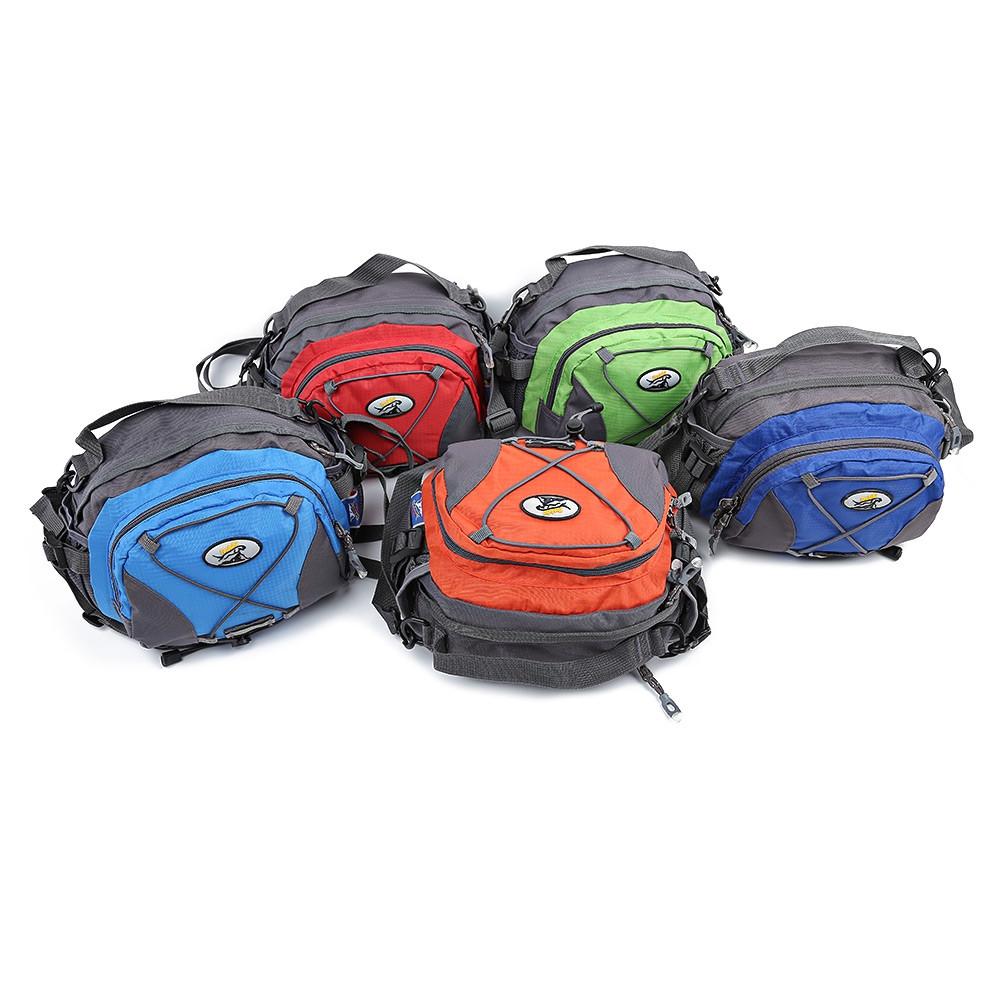 Tanluhu Multifunctional Large Capacity Purse Outdoor Hiking Bag DEEP BLUE