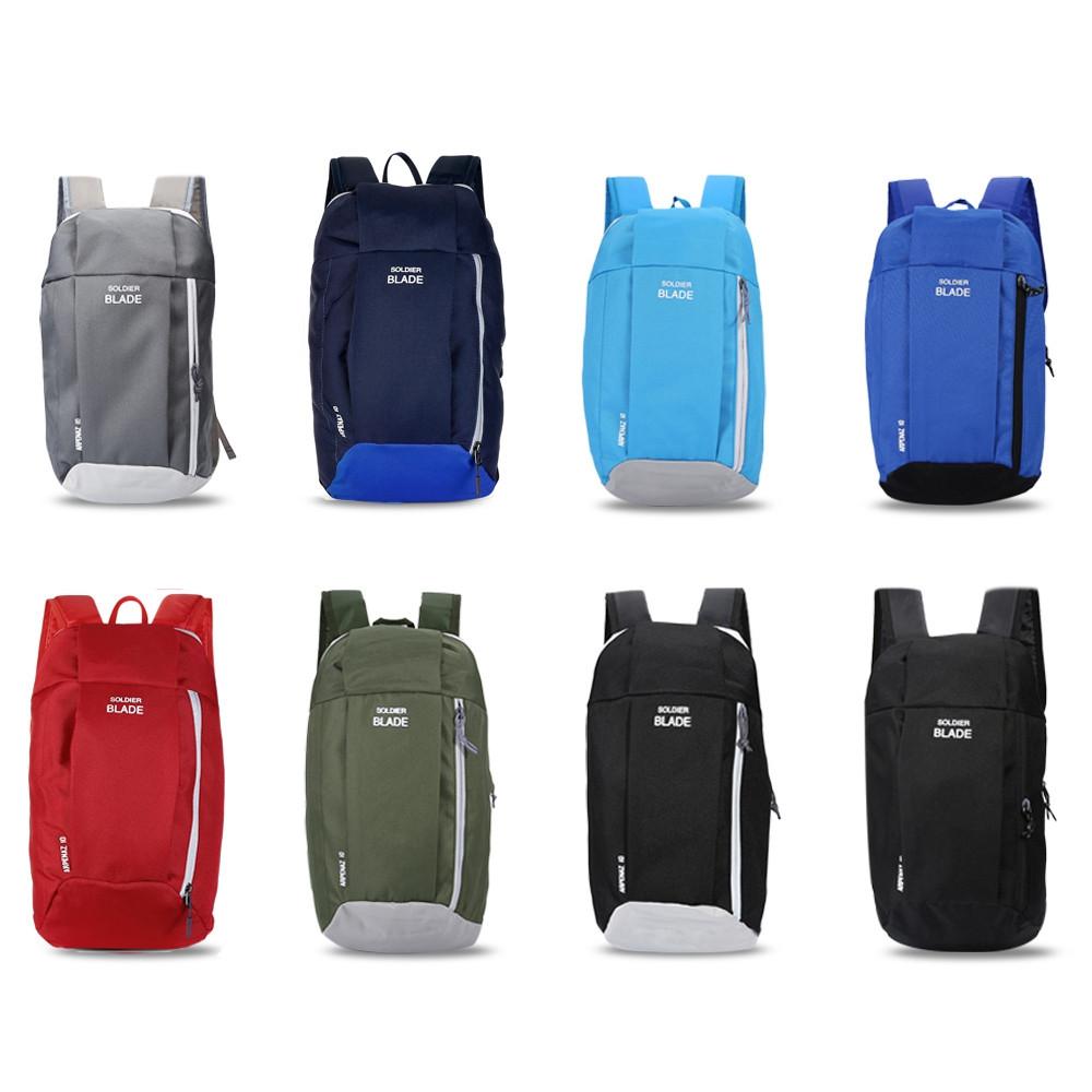 SOLDIER BLADE Water Resistant Light Weight Biking Backpack BLACK