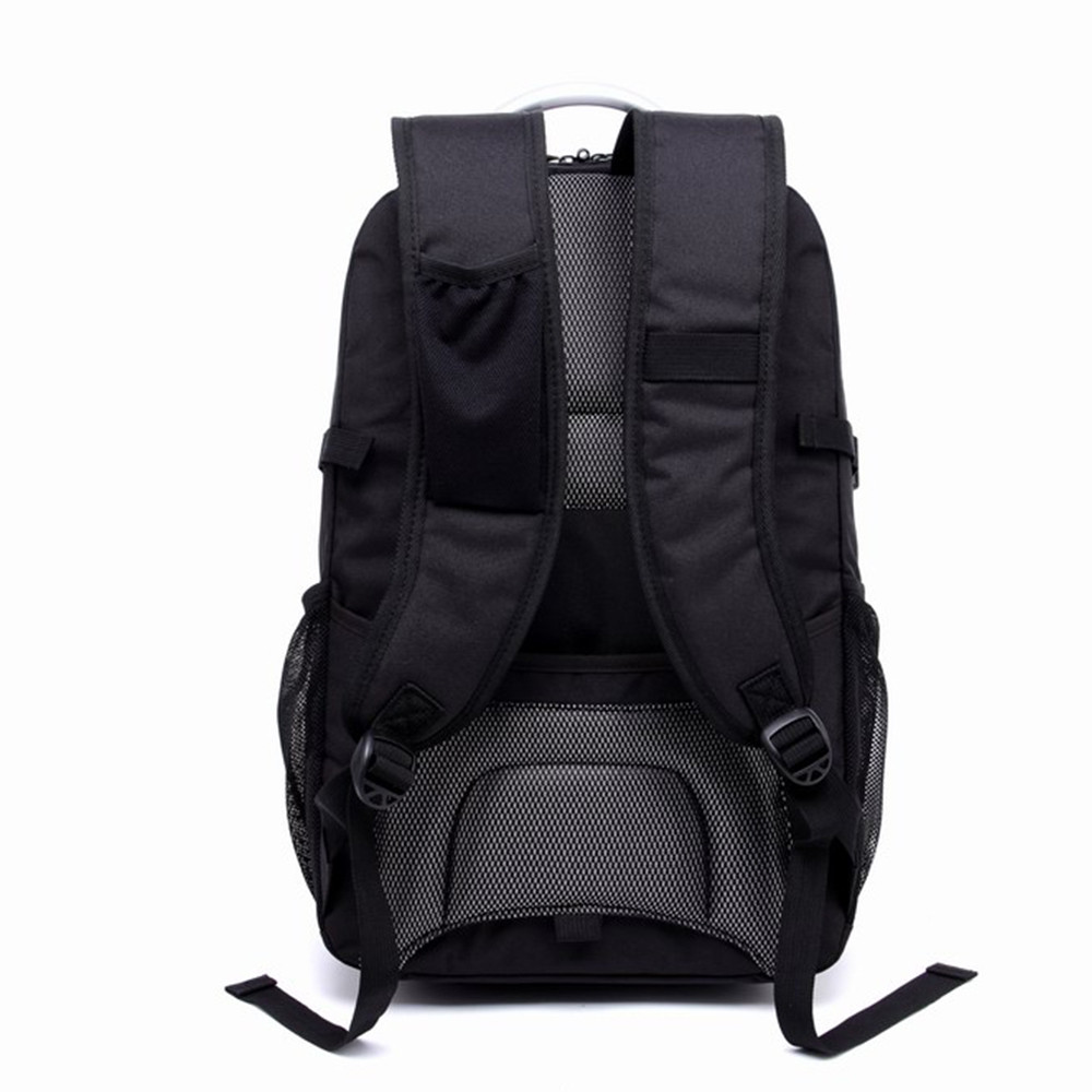 Men'S Business Computer Bags Casual Backpack BLACK 2B#