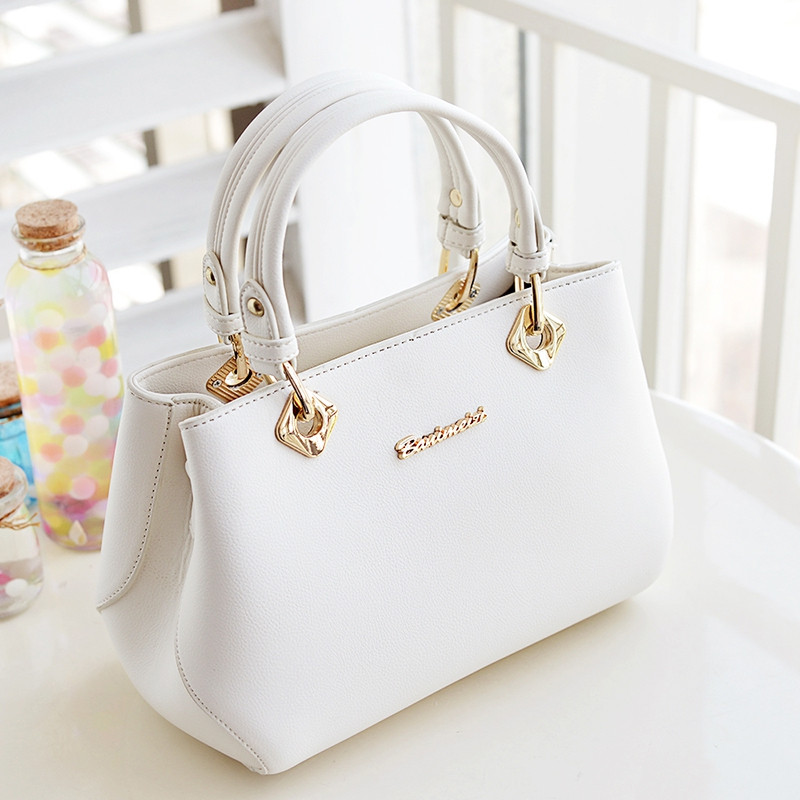 Women's Handbag Fashion Casual All-match Solid Color Bag BEIGE HORIZONTAL