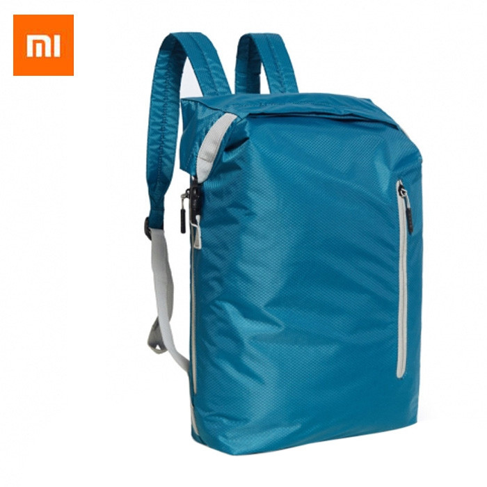 Original Xiaomi 20L Nylon Water Resistant Sports Backpack BLUE