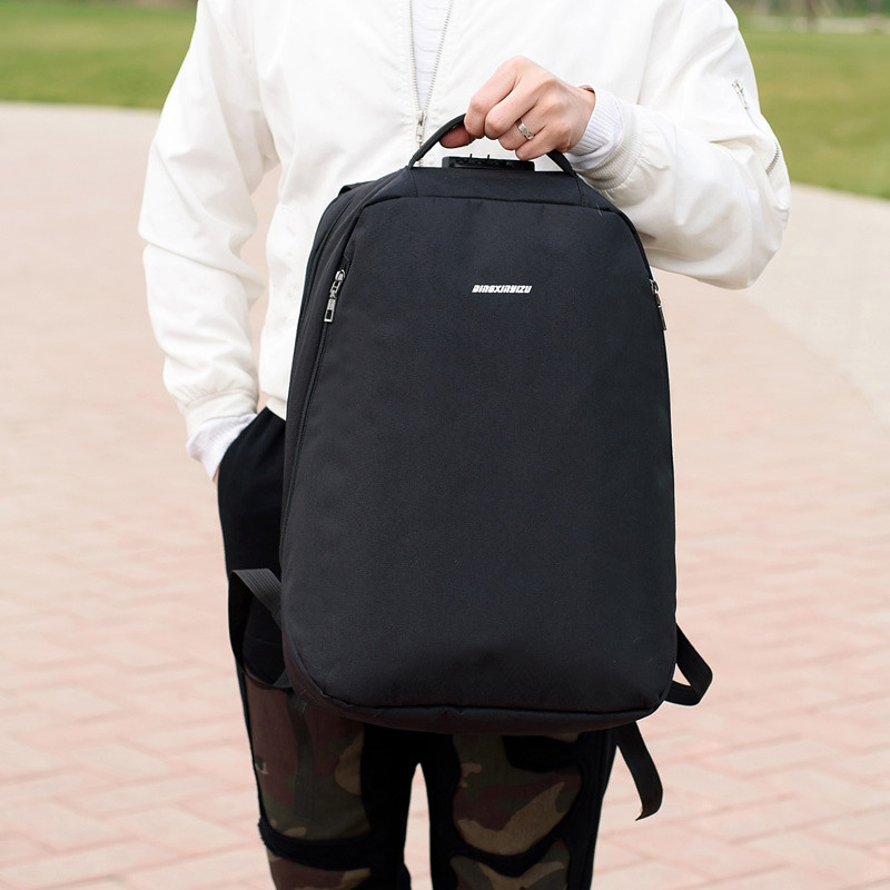 Anti-Theft Backpack Multi-functional Business Travel Backpack BLACK