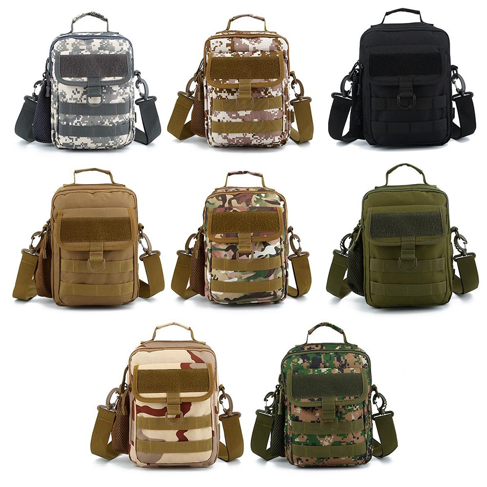 Guapabien Man's Multifunctional Crossbody Bag Chest Pack CAMOUFLAGE GREEN