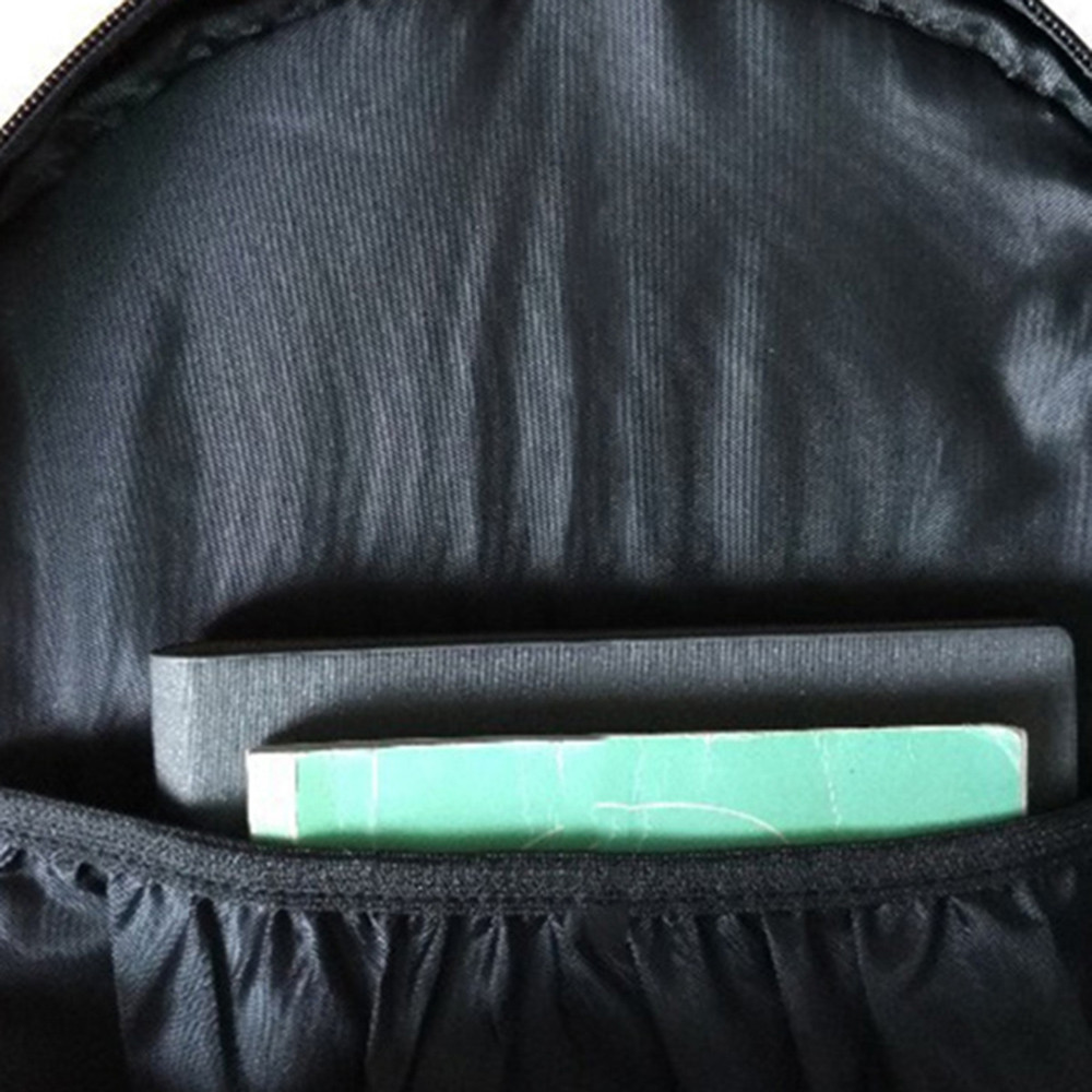 Skull Stylish Backpack BLACK