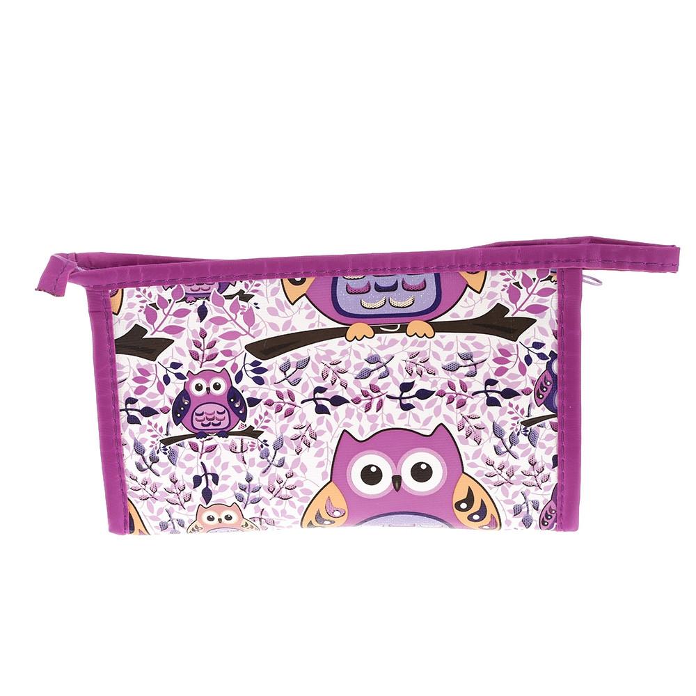 Women Portable Cosmetic Bag Makeup Pouch 3PCS MULTI-A