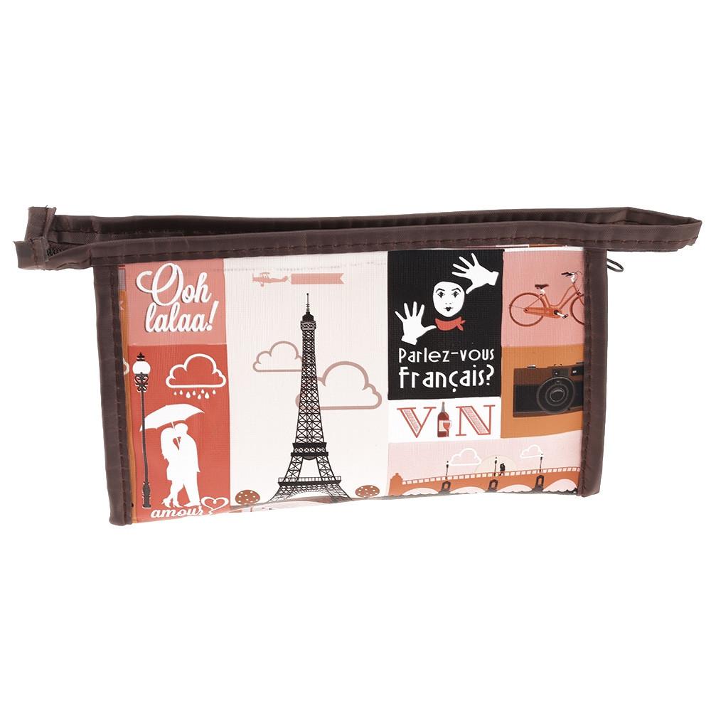 Women Portable Cosmetic Bag Makeup Pouch 3PCS MULTI-B