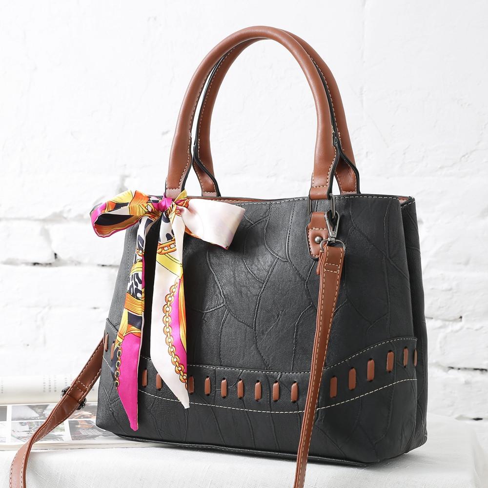 Luxury Fashion Handbags Women Bags High Quality Designer Shoulder Bag Crossbody Casual Tote Bag Bolsas BLACK HORIZONTAL