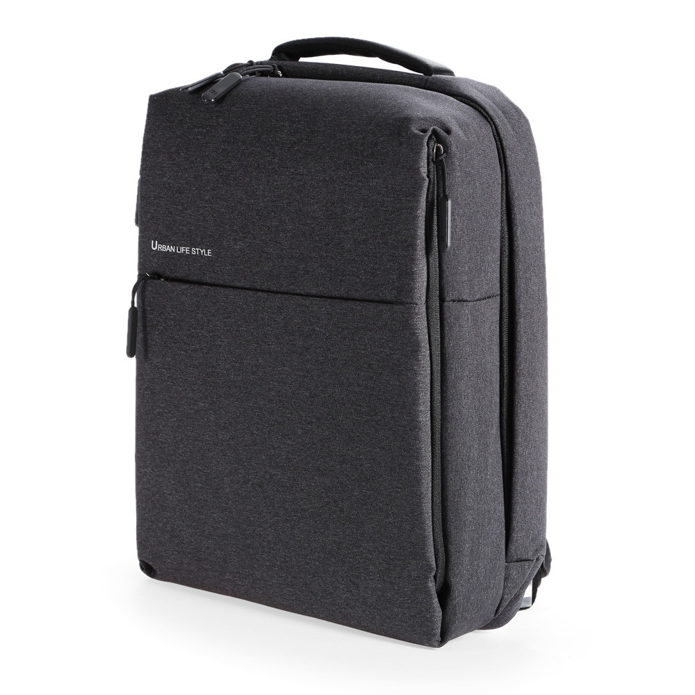Original Xiaomi 14 inch Urban Style Polyester Backpack Leisure Sports Bag DEEP GRAY