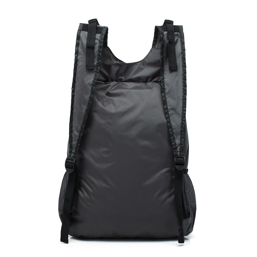 WalkingToSky Backpacks Foldable Lightweight Waterproof GRAY