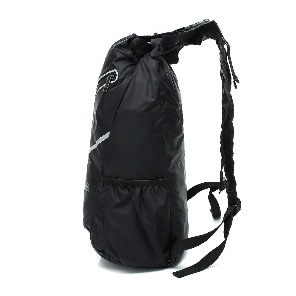 WalkingToSky Backpacks Foldable Lightweight Waterproof BLACK