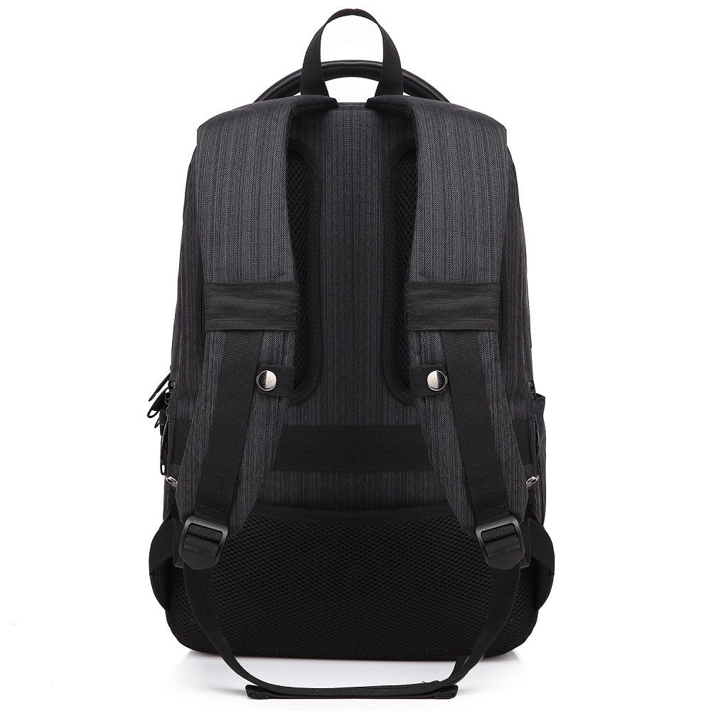 WalkingToSky Brand Backpacks for Men Women School Bag 15.6 Inch Computer Classic Business Bags Travel College BLACK