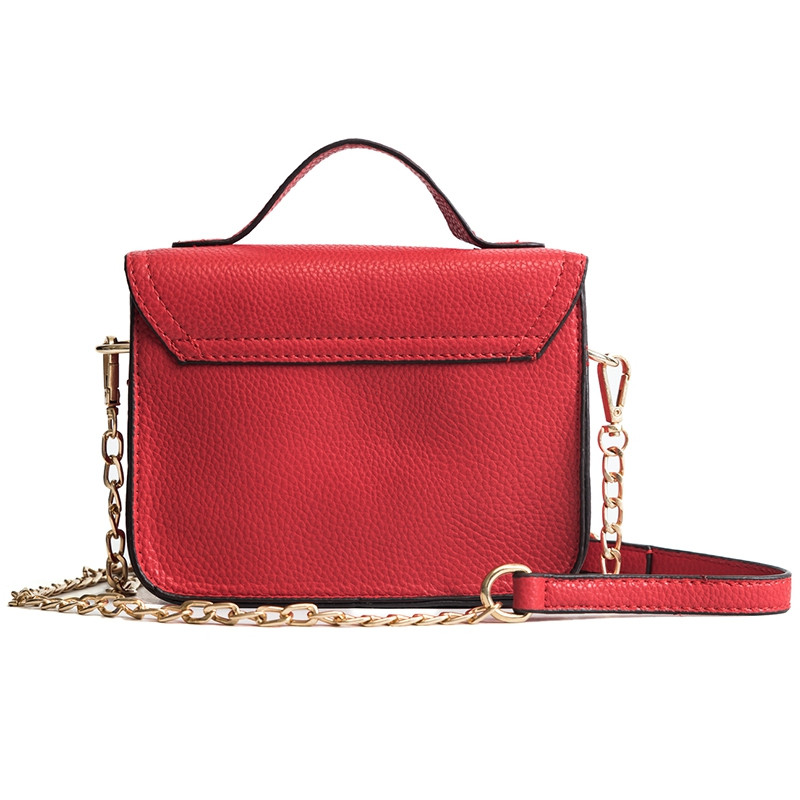 DA01354 Women'S PU Single Shoulder Handbag RED