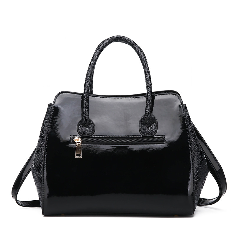 DA934Women'S Fashion Handbag BLACK