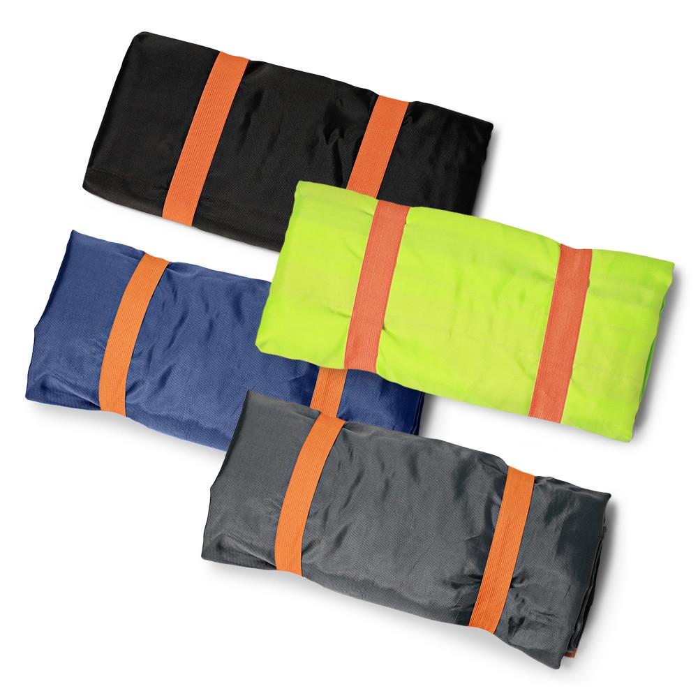 Multifunctional Water-resistant Carpet Travel Beach Bag BLACK